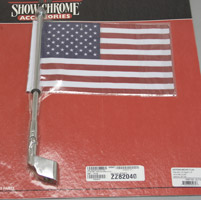 Show Chrome Accessories USA Flag Kit