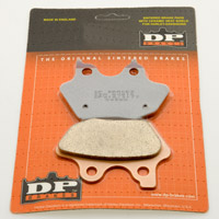 DP Brakes Sintered Replacement Front and Rear Brake Pads