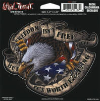 Lethal Threat Freedom isn't Free Decal