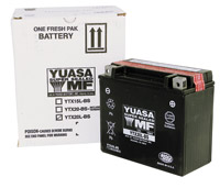 YUASA GRT Sealed Battery Model
