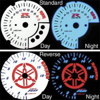 Dark Star Luminescent Tach Face Cover