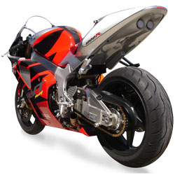 Hot Bodies Racing SBK Black Undertail With LED lights