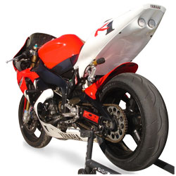 Hot Bodies Racing SBK Blue Undertail With LED lights