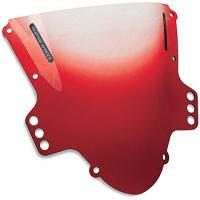 Memphis Shades Gradient Red Sportbike Windscreen