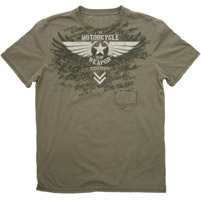 Speed and Strength Men's  My Weapon 2.0 Olive Green T-shirt