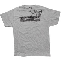 Speed and Strength Men's Twist of Fate 2.0  Heather Gray T-shirt