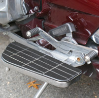 Add On Lowboy Driver Floorboards for Honda GL1500 Goldwing