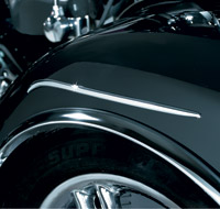 Kuryakyn Rear Fender Speed Lines for GL1800 California Sidecar Trike