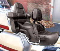 Add On Black Drivers Backrest for GL1500