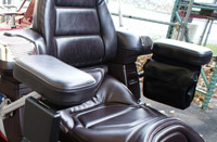 Add On Black Passenger Armrest for GL1500 Gold Wing