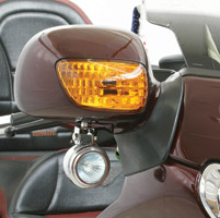 Rivco Mirror-Mount Driving Light Kit