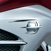 Kuryakyn Chrome Falcon Fairing Emblem Cover for GL1800