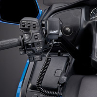 J&M CB Hand Microphone Kit for Honda Goldwing