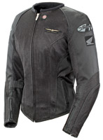 Gold Wing Skyline 2.0 Ladies Black/Black Jacket