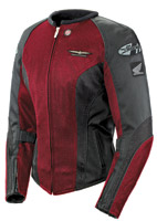 Gold Wing Skyline 2.0 Ladies Wine/Black Jacket