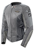 Gold Wing Skyline 2.0 Ladies Silver/Gray Jacket