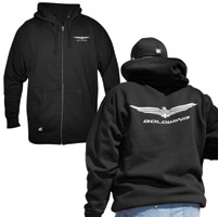 Honda Gold Wing Men's Zip Hoody