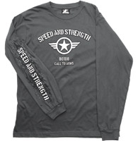 Speed and Strength Call to Arms Long Sleeve Shirt