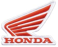 Honda Logo Embroidered Patch