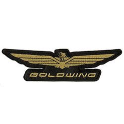 Honda Gold Wing Logo Embroidered Patch