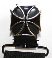 Faarken Maltese Cross Biker Stirrups