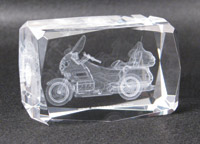 GL1800 Crystal Paperweight