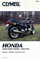 Clymer Honda In-Line Fours Motorcycle Repair Manual