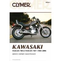 Clymer Kawasaki Twins Motorcycle Repair Manual