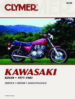 Clymer Kawasaki KZ650 Fours Motorcycle Repair Manual