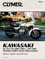 Clymer Kawasaki 1000 & 1100cc Fours Motorcycle Repair Manual