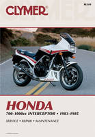 Clymer Honda Fours Motorcycle Repair Manual