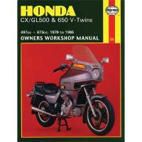 Haynes Honda Shop Manual for 78-86 CX/GL500/650