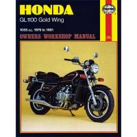 Haynes Honda Shop Manual for 79-81 GL1100 Gold Wing