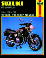 Haynes Suzuki Shop Manual for 78-88 GS850