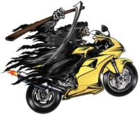 Lethal Threat Reaper Sport Bike Decal