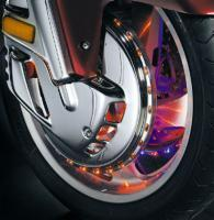 Kuryakyn Brake Rotor Covers with Ring of Fire