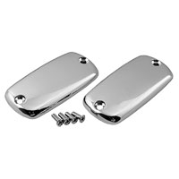 Show Chrome Accessories Master Cylinder Top Covers