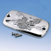 Show Chrome Accessories Master Cylinder Free Spirit Cover for Honda Models