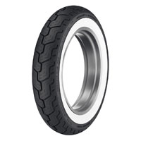 Dunlop D402 MU85B16 Wide Whitewall Rear Tire