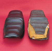 Saddlemen Burgundy Saddle Skins Motorcycle Replacement Seat Cover