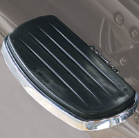 Rivco Classic Steel Passenger Floorboards for Honda VTX Models