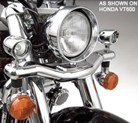 Show Chrome Accessories Contour Mini Halogen Lgihts