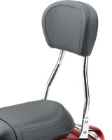 Cobra Standard Round Sissy Bar with Pad