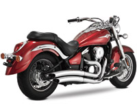 Vance & Hines Big Radius 2-into-2 for Vulcan 900