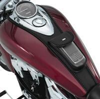Hopnel Carbon Fiber Tuxedo Ties for VT600, VT1100 Spirit, ACE and Sabre