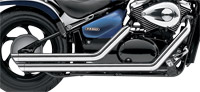 Cobra Streetrod Slashdown Exhaust Chrome