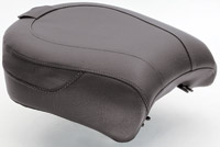 Mustang Wide Vintage Passenger Seat with Receiver for Backrest