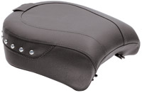 Mustang Wide Studded Passenger Seat with Receiver for Backrest