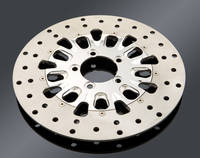 Performance Machine Brake Disc Domino Polished