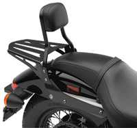 Cobra Formed Sissy Bar Luggage Rack
